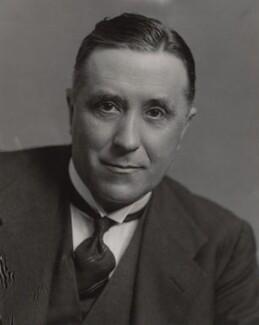 Ambrose Edgar Woodall, Baron Uvedale of North End, by Elliott & Fry - NPG x91842