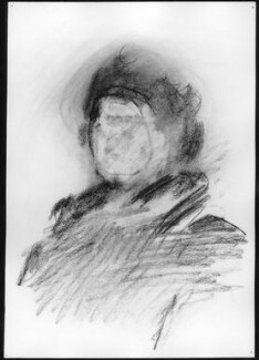 A.S. Byatt, by Patrick Heron, 1995 - NPG 6414a - © reserved; collection National Portrait Gallery, London