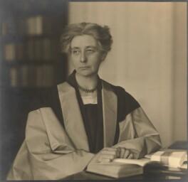 Eleanor Constance Lodge, by Walter Benington, for  Elliott & Fry - NPG x92045