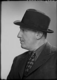 Peter Cheyney (Major Reginald Evelyn Peter Stouthouse-Cheyney) Cheyney, by Elliott & Fry - NPG x92114