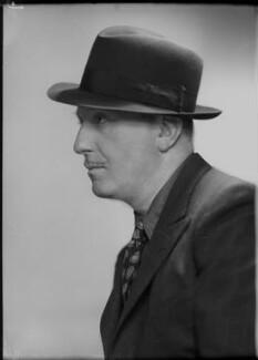 Peter Cheyney (Major Reginald Evelyn Peter Stouthouse-Cheyney) Cheyney, by Elliott & Fry - NPG x92119