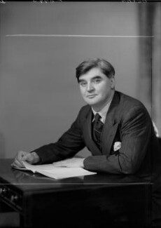 Aneurin Bevan, by Elliott & Fry, 1945 - NPG x92565 - © National Portrait Gallery, London