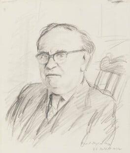 V.S. Pritchett, by Rupert Shephard - NPG 6544