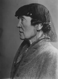 Louisa Garrett Anderson, by Elliott & Fry - NPG x95054