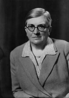 Dame Lilian Charlotte Barker, by Elliott & Fry - NPG x95251