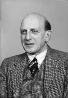 Harold Abrahams, by Elliott & Fry, 1950 - NPG x99351 - © National Portrait Gallery, London
