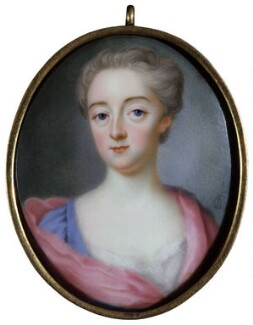 Mary Walpole (née Lombard), Lady Walpole of Wolterton, by Charles Boit, circa 1715 - NPG  - © National Portrait Gallery, London