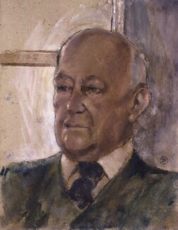 Sir Alec Guinness, by (Arthur) Derek Hill, 1998 - NPG 6422 - © Derek Hill Foundation