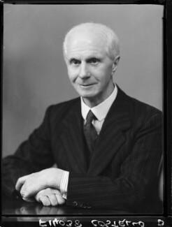 Sir Leonard Wilfred James Costello, by Elliott & Fry - NPG x100165