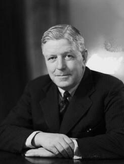 Sir Harold George Sanders, by Elliott & Fry - NPG x100512