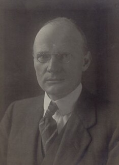 Sir George William Chrystal, by Walter Stoneman - NPG x162052
