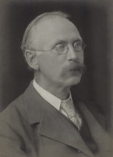 Sir Arthur Lyon Bowley, by Walter Stoneman - NPG x162055