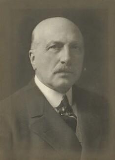 Reginald Baliol Brett, 2nd Viscount Esher, by Walter Stoneman - NPG x162215