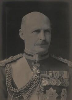 (Frederic) Rudolph Lambart, 10th Earl of Cavan, by Walter Stoneman, 1923 - NPG x162219 - © National Portrait Gallery, London