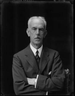 Sir (Ernest) Bickham Sweet-Escott, by Walter Stoneman - NPG x162288