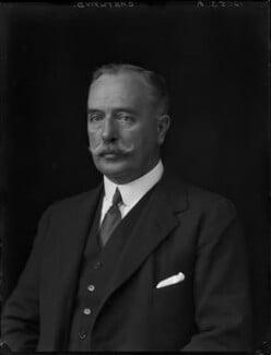 Godfrey John Boyle Chetwynd, 8th Viscount Chetwynd, by Walter Stoneman - NPG x162297