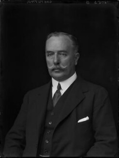 Godfrey John Boyle Chetwynd, 8th Viscount Chetwynd, by Walter Stoneman - NPG x162298