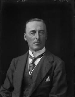 John Edward Bernard Seely, 1st Baron Mottistone, by Walter Stoneman, 1924 - NPG x162301 - © National Portrait Gallery, London