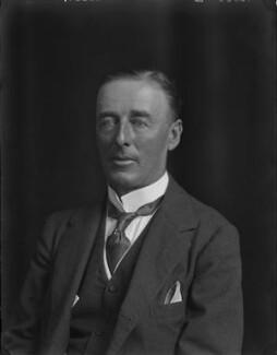 John Edward Bernard Seely, 1st Baron Mottistone, by Walter Stoneman - NPG x162304