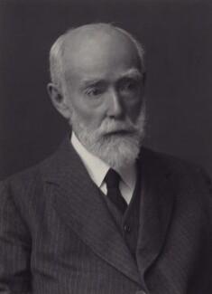 Sir Sidney Colvin, by Walter Stoneman, 1924 - NPG x162429 - © National Portrait Gallery, London
