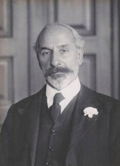 Sydney Haldane Olivier, 1st Baron Olivier, by Walter Stoneman - NPG x162440