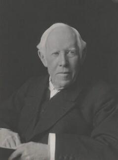 William Archibald Spooner, by Walter Stoneman - NPG x162443