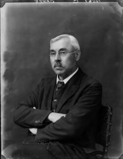 Henry Frederick Baker, by Walter Stoneman - NPG x162526