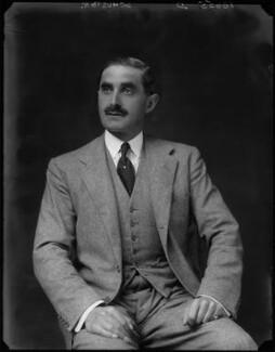 Sir George Ernest Schuster, by Walter Stoneman - NPG x162563