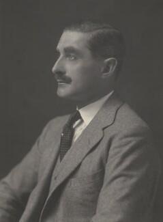 Sir George Ernest Schuster, by Walter Stoneman - NPG x162664