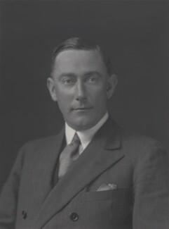 Sir (Robert) Patrick Malcolm Gower, by Walter Stoneman - NPG x162734