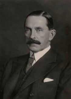 Wilfrid William Ashley, 1st Baron Mount Temple, by Walter Stoneman - NPG x162742