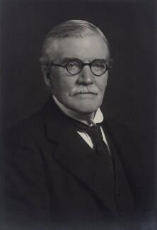 Sir Dugald Clerk, by Walter Stoneman - NPG x162744