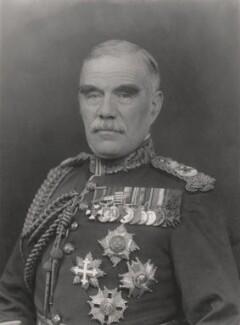 Sir William Robert Robertson, 1st Bt, by Walter Stoneman - NPG x162751