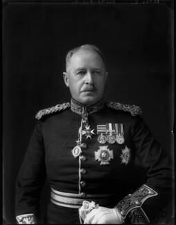 Sir George Macaulay Kirkpatrick, by Walter Stoneman - NPG x162793