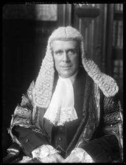 John Sankey, Viscount Sankey, by Walter Stoneman - NPG x162814