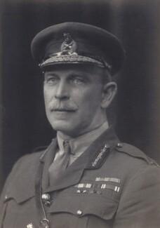 Sir Evan Eyare Carter, by Walter Stoneman - NPG x162830