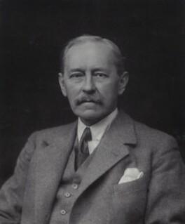 Lord (Albert) Edward Wilfred Gleichen, by Walter Stoneman - NPG x162835
