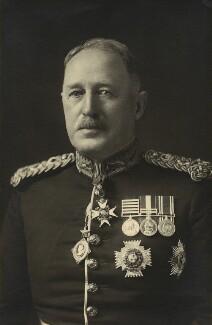 Sir George Macaulay Kirkpatrick, by Walter Stoneman - NPG x162848