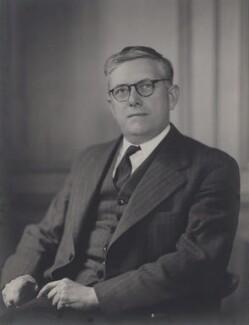 Herbert Vere Evatt, by Walter Stoneman - NPG x162859