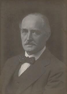 Esme William Howard, 1st Baron Howard, by Walter Stoneman - NPG x162862