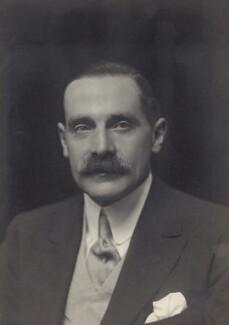 George Herbert Hyde Villiers, 6th Earl of Clarendon, by Walter Stoneman - NPG x162950