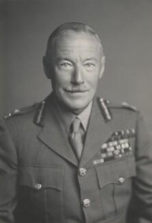 Sir Philip Neame, by Walter Stoneman - NPG x162977