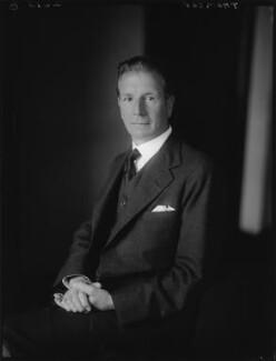 Sir Francis Vernon Thomson, 1st Bt, by Walter Stoneman - NPG x162997