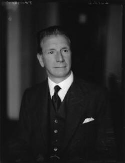 Sir Francis Vernon Thomson, 1st Bt, by Walter Stoneman - NPG x162998