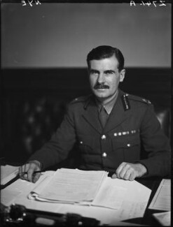 Sir Archibald Edward Nye, by Walter Stoneman - NPG x163231