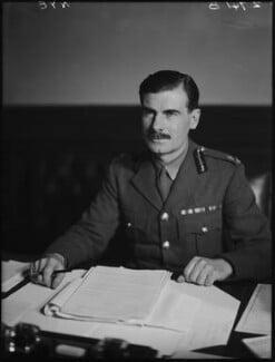 Sir Archibald Edward Nye, by Walter Stoneman - NPG x163232
