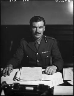 Sir Archibald Edward Nye, by Walter Stoneman - NPG x163233