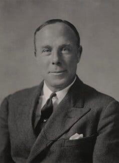 Sir Louis Leisler Greig, by Walter Stoneman - NPG x163246