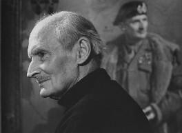 Bernard Law Montgomery, 1st Viscount Montgomery of Alamein, by Godfrey Argent, 7 December 1968 - NPG x163248 - © National Portrait Gallery, London