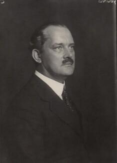 Sir Hubert Winthrop Young, by Walter Stoneman, August 1934 - NPG x163259 - © National Portrait Gallery, London